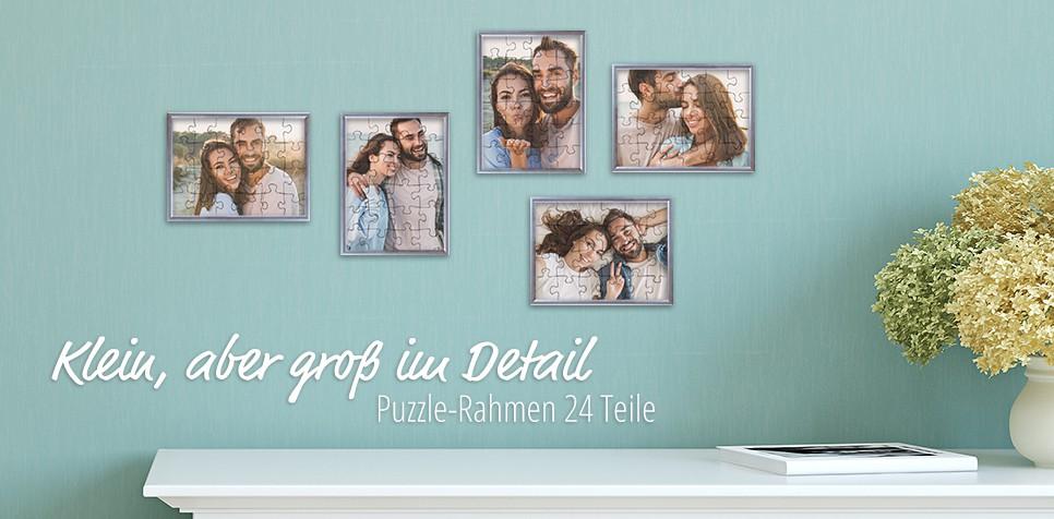 Rahmen 24-Teile-Puzzle