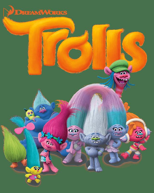 Die Welt der kunterbunten Trolls