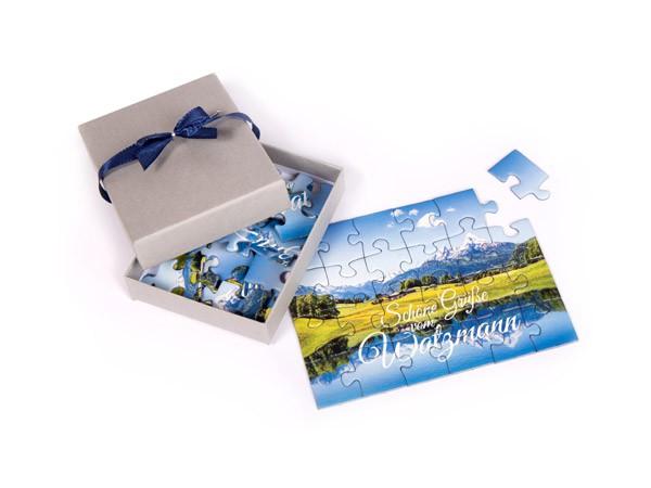Watzmann Puzzle im Postkartenformat