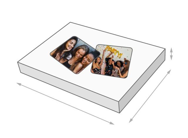 Größe der Memo-Spiel-Schachtel