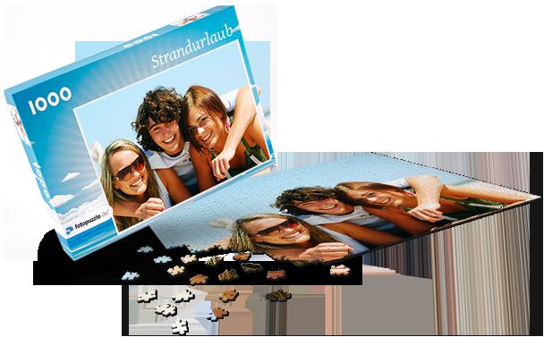 Puzzle-Schachtel Sommer
