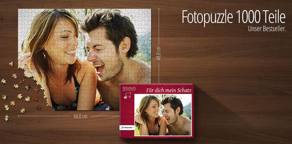 1000 Teile Fotopuzzle
