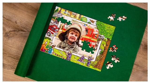 Puzzle-Matte für das Kinderpuzzle