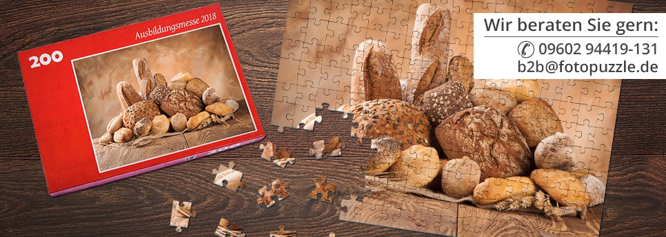 Werbepuzzles von fotopuzzle.de