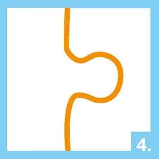 Gebrauchsanweisung Puzzle-Kleber Schritt 4