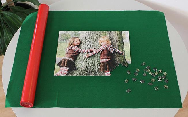 Vorbereitung Puzzle-Matte