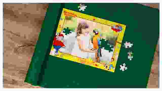 Puzzle-Matte für Benjamin-Blümchen-Puzzles