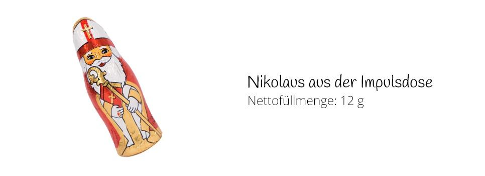 Nikolaus aus Schokolade