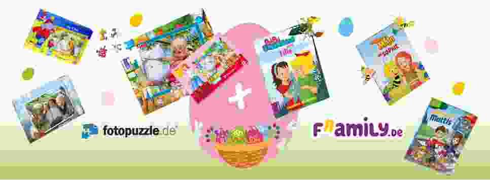 Gewinnspiel zu Ostern fotopuzzle.de und framily