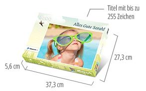 Größe der Puzzle-Schachtel – Fotopuzzle 1000 Teile