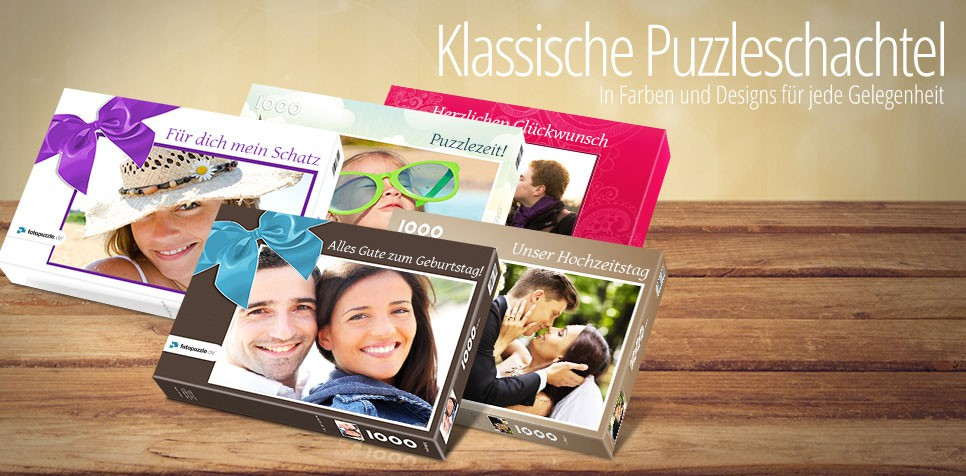 Die passende Puzzle-Schachtel
