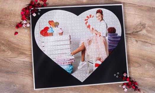 Rahmen Foto Valentinstag