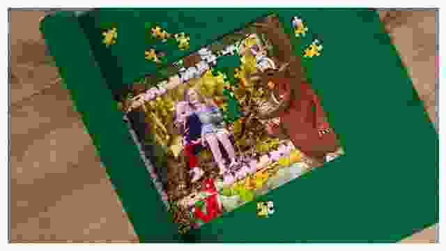 Puzzle-Matte für Grüffelo-Kinderpuzzle