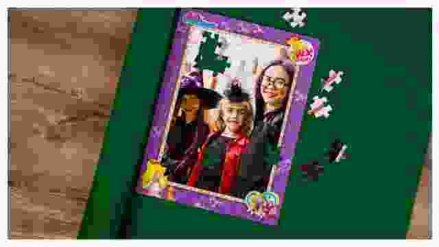 Puzzle-Matte für Bibi-Blocksberg-Kinderpuzzles