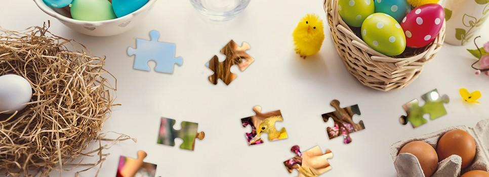 Kreative Osternester und stimmungsvolle Festtagsdeko aus Fotogeschenken