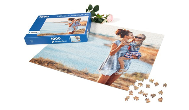 Puzzle mit eigenem Foto