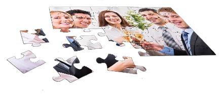 24 Teile Puzzle als Geschenk für Firmen