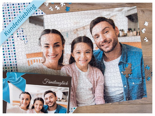 Fotogeschenk-Renner: Fotopuzzle