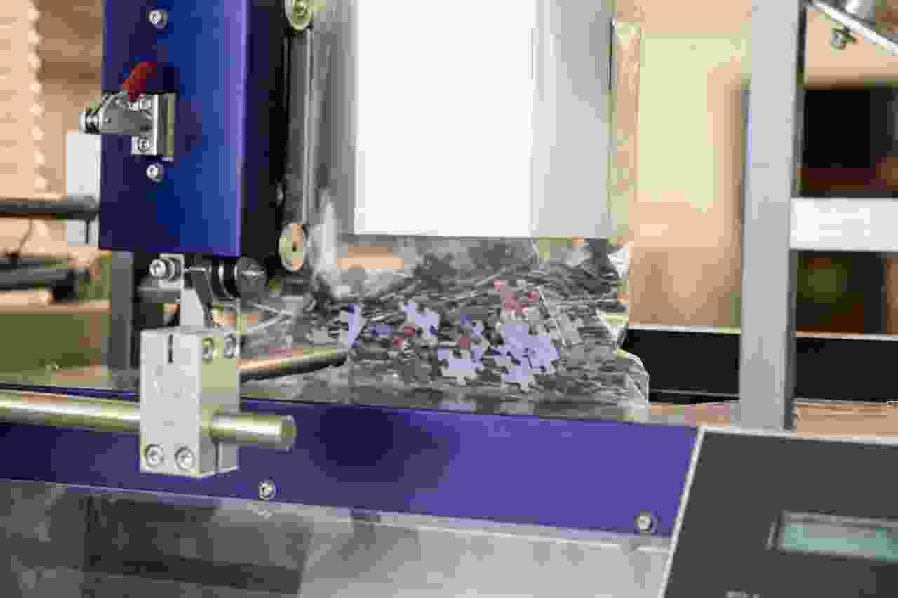 Fotopuzzle bröseln
