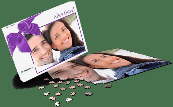 Puzzle-Schachtel Geschenk