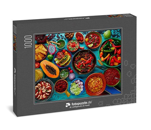 Puzzle Essen und Trinken Mexikanisches Essen Mexiko