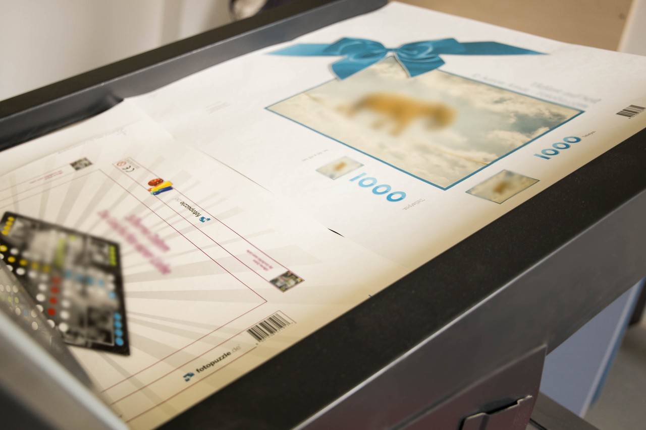 Druck Fotopuzzle & Puzzle-Schachtel
