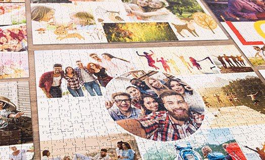 Ihre Fotos als Collage mit unserem Collagendesigner