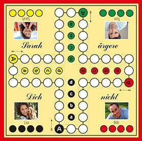Spielplan für 4 Personen