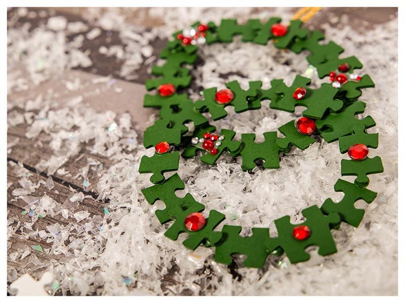 basteln Weihnachten Baumschmuck