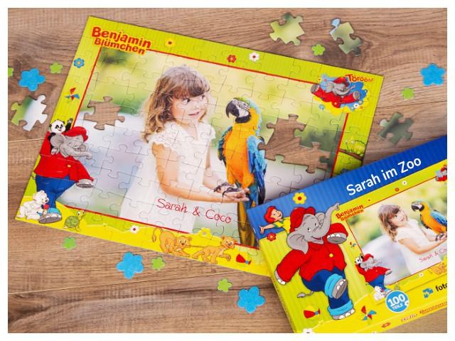 Puzzle für Kinder mit eigenem Foto