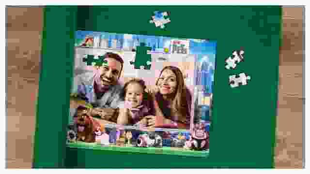 Puzzle-Matte für Kinderpuzzles