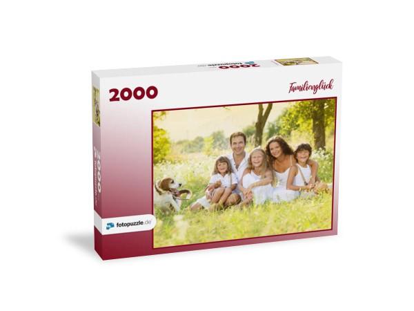 Familienfoto 2000 Teile Puzzle