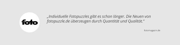 Fotomagazin über fotopuzzle.de