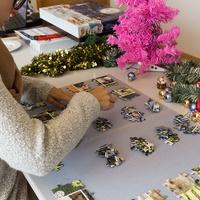 Puzzle im Adventskalender