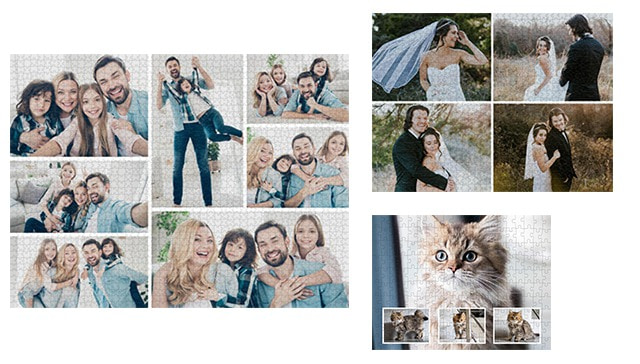 Fotopuzzle Collage