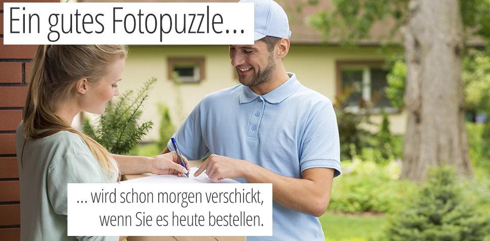 Fotopuzzle: schnelle Lieferzeit