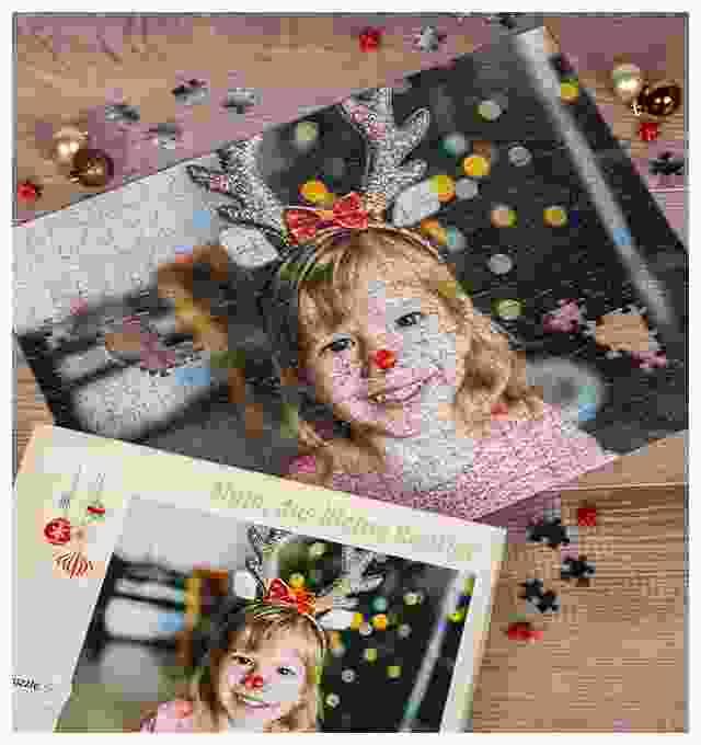 Weihnachtsgeschenk Fotopuzzle