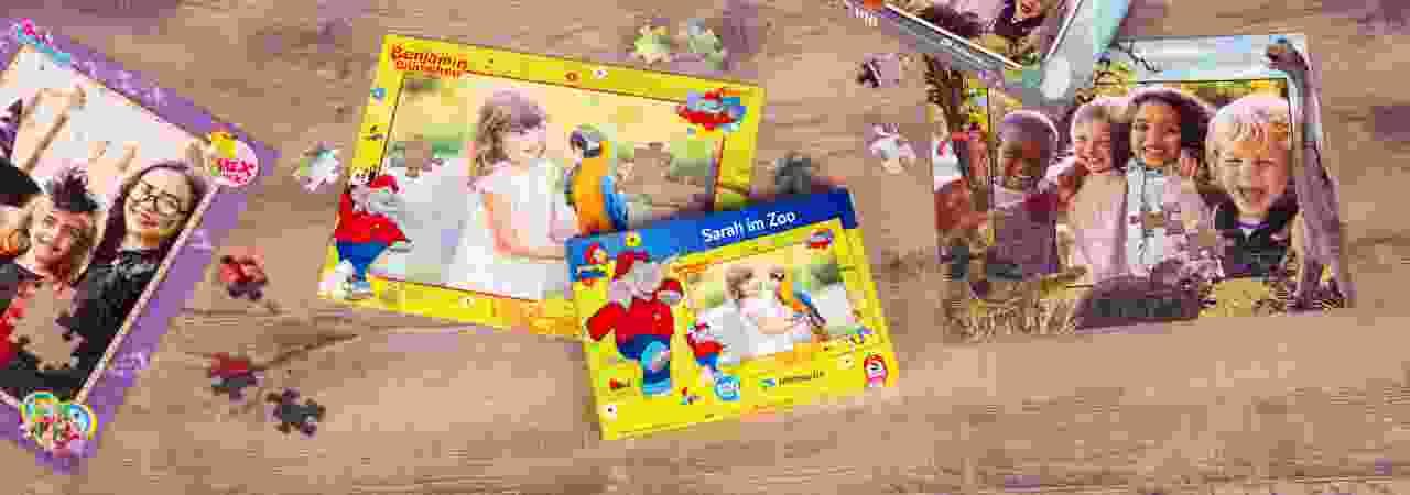 Kinderpuzzle mit eigenen Fotos gestalten