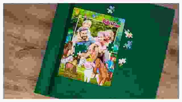 Puzzle-Matte für Bibi&Tina-Kinderpuzzles