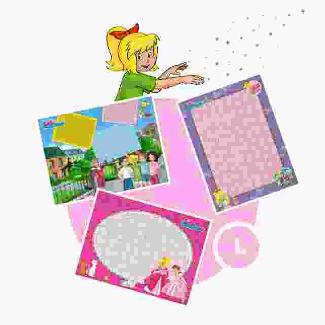 Bibi-Blocksberg-Kinderpuzzle gestalten - Schritt 1