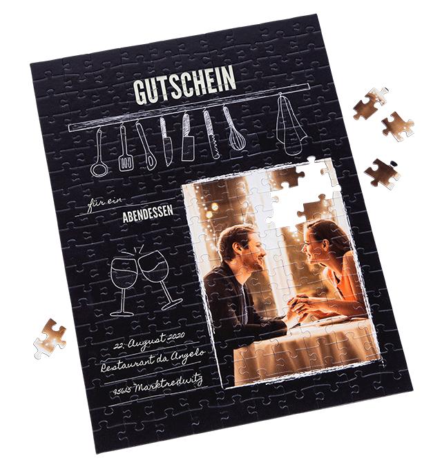Weihnachtsgeschenk Restaurant Gutschein