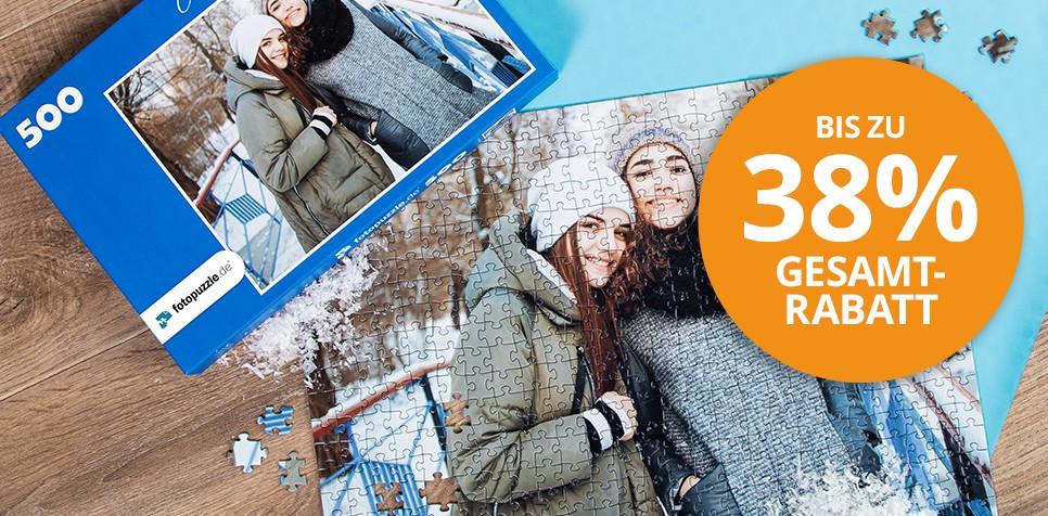 Fotopuzzle.de Gutscheine - jetzt Rabatte sichern