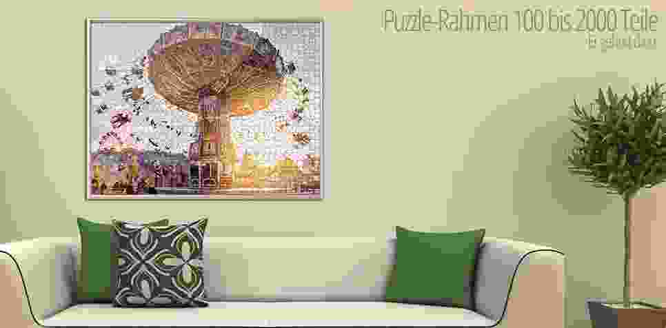 Puzzle-Rahmen 100 bis 2000 Teile