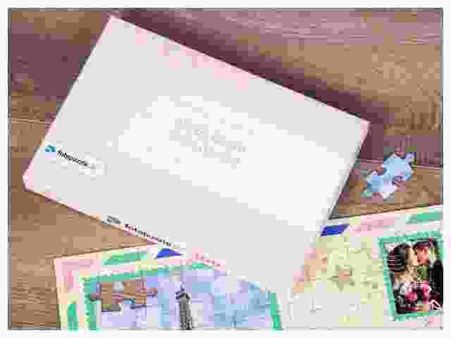 Gutschein-Puzzle Verpackung