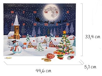 Größe Puzzle-Adventskalender