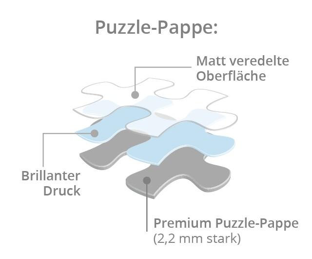 Puzzle-Pappe Message-Puzzles