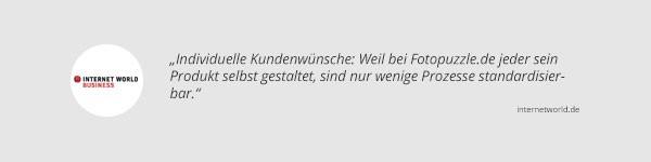 Internet Worldbusiness über fotopuzzle.de