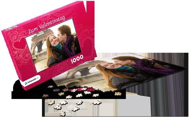 Puzzle-Schachtel Liebe I