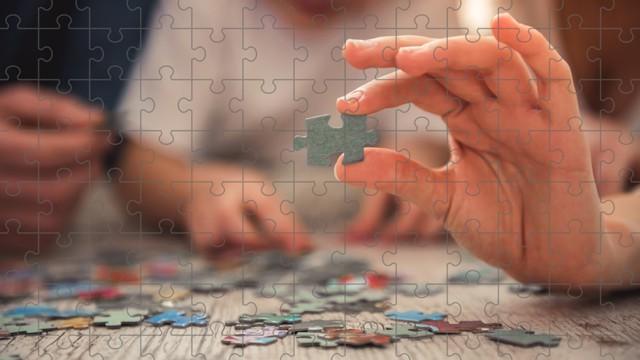 Puzzeln fördert die Motorik