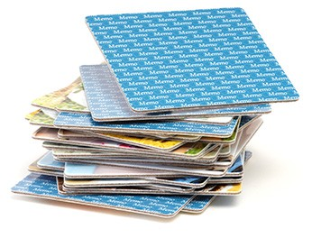 Kartenstapel Memo-Spiel